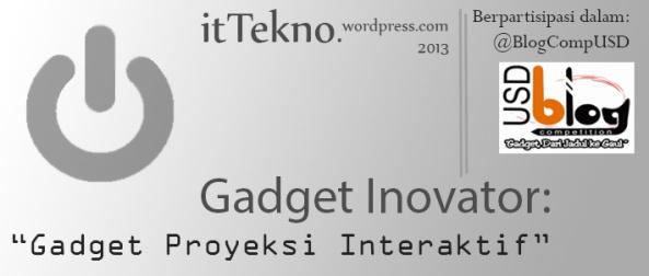 Gadget Inovator itTekno Header